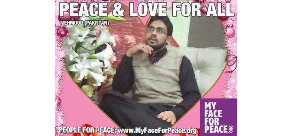 MAHMOUD HASSAN - FOUNDER OF PEACE PREACH PAKISTAN - ALSO PARTNER OF THE PACIFIST JOURNAL, WORKING WITH US TO A BETTER AND PEACEFUL WORLD!