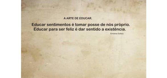 A ARTE DE EDUCAR - Lição nº 1