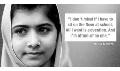 MALALA - EDUCATION IN THE WORLD!