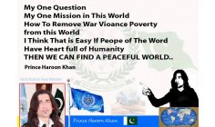 PRINCE HAROON KHAN - FOUNDER AND PRESIDENT OF WSPF - WORLD STUDENT PEACE FEDERATION