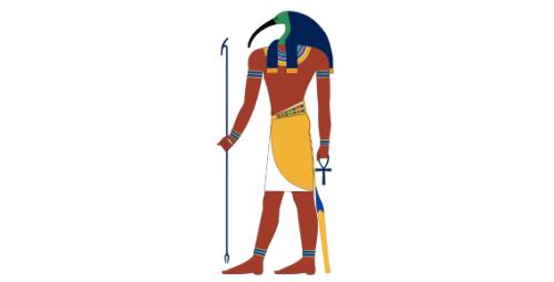 THOT - EGIPTIAN MAN/GOD OF THE WRITING