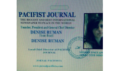 "DENISE RUMAN - FOUNDER AND PRESIDENT OF ""PACIFIST JOURNAL - REFLECTIONS AND THOUGHTS OF THIS GREAT MENTOR OF PEACE IN HUMANITY!!!!"