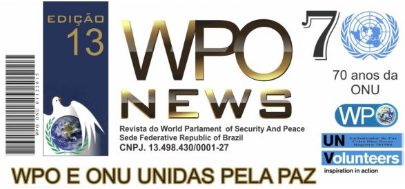 WPO indicará a Presidente do Pacifist Journal,  Denise Ruman, como Candidata do Brasil ao Nobel da Paz.