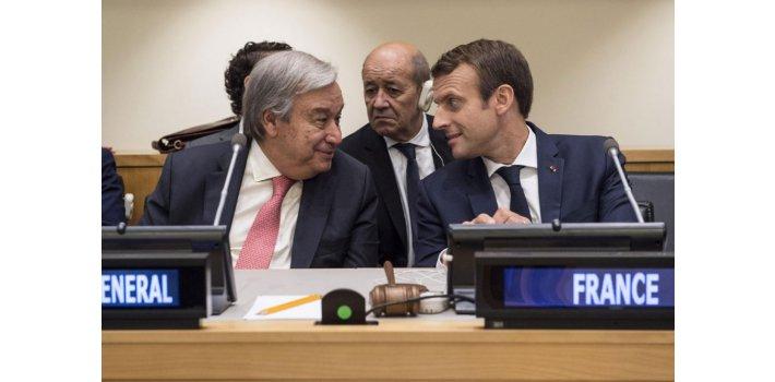 Secretário-geral da ONU pede apoio a pacto ambiental proposto pela França