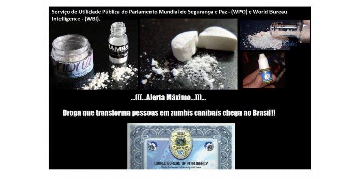 Serviço de Utilidade Pública - Droga que Transforma Pessoas em Zumbis)