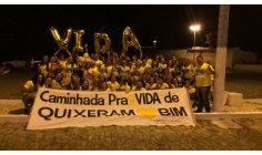 Embaixador Juvenil da Paz Jardel Cavalcante participa de I Caminhada Pra Vida em Quixeramobim