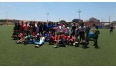 Escolinha de Futebol Alvinegro de Santa Maria Brasília realiza festa  no dia das crianças.