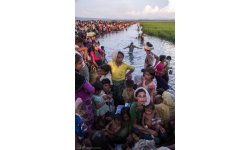 Rohingya refugee. / Rohingya refugee.