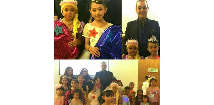 Prince Brigadier General Datoseri Dr.bahman Mehrpour   - Prince kutai &Prince of Peace - Fighting to the Study of Children