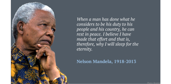 NELSON MANDELA - A PAST HERO FOR WORLD PEACE IN THE WORLD!!
