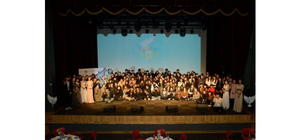 Hosting Youth Sovereignty Peace Conference, Piece of Peace Event Piece of Peace, peace conference for two Koreas unification, was held in Gwangju, South Korea amongst attracting the public attention to the fact that athletes  the two K