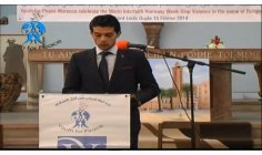 ZAKARIA EL HAMEL - DIRECTOR OF PACIFIST JOURNAL IN MOROCCO - MOROCCO SPEECH ON THE CHURCH, FOR PEACE!