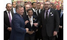 الملك يهنئ العاهل الأردني بذكرى تولي العرش