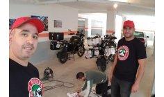 مشجعون مغاربة يقصدون روسيا بدراجات نارية