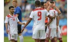 المنتخب الوطني يختتم استعداداته للمونديال بثلاثية أمام إستونيا