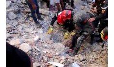 انهيار منزلين بالبيضاء .. جهود متواصلة تطوّق الخسائر البشرية للفاجعة