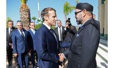 """الملك يدشن أول رحلة لقطار """"البُراق"""" بحضور الرئيس الفرنسي"""