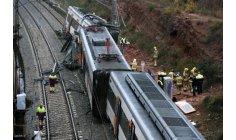 خروج قطار عن سكته يسقط ضحايا في برشلونة