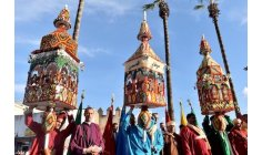 """""""موسم الشموع"""" بسلا يحتفي بذكرى المولد النبوي والموروث الثقافي"""