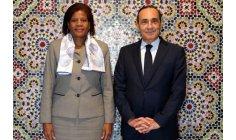المالكي يستقبل مديرة في مجموعة البنك الدولي