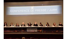 لجنة تحكيم المهرجان الدولي للفيلم بمراكش تشارك آراءها مع الجمهور