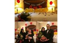 HRH  Prince Brigadier General Datoseri Dr.bahman Mehrpour And princess
