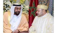 الملك يتمنى الصحة للشيخ خليفة والسعادة للإمارات