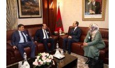 المالكي يتباحث مع رؤساء وفود برلمانية دولية