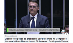 JAIR BOLSONARO - NEW BRASIL PRESIDENT, STARTS HIS GOVERNANCE ON 03 JANUARY 2018