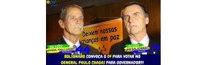 ONDE ESTARÁ O GENERAL PAULO CHAGAS QUE CONCORREU A GOVERNADOR PARA BRASÍLIA COM APOIO DO PRESIDENTE JAIR MESSIAS BOLSONARO.
