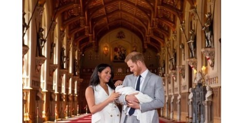 BORN THE SON OF PRINCE HARRY AND MEGHAM - ENGLAND - MAY 3019