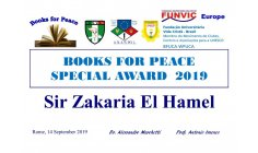 ZAKARIA EL HAMEL -  Director  of PACIFIST JOURNAL