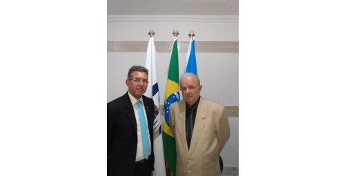 Ariel da Veiga Mateus Embaixador da Paz da WPO visita Gabinete Presidência da WPO.