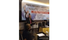 DJUYOTO SUNTANI -  FOUNDER AND  LEADER OF WPC - WORLD PEACE COMMITEE AND  WORLD PEACE GONG