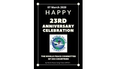 DJUYOTO SUNTANI - FOUNDER AND  LEADER OF WPC - 07 MARCH 2020 - 23a. CELEBRATION WORLD PEACE COMMITEE