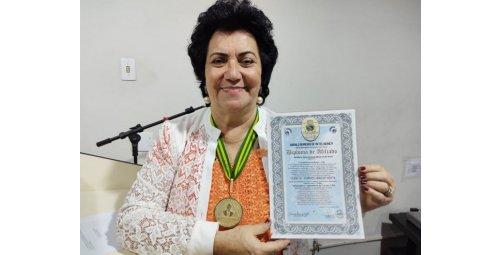 Sílvia de Lourdes Araújo Motta uma das mais renomadas brasileiras no meio cultural humanístico
