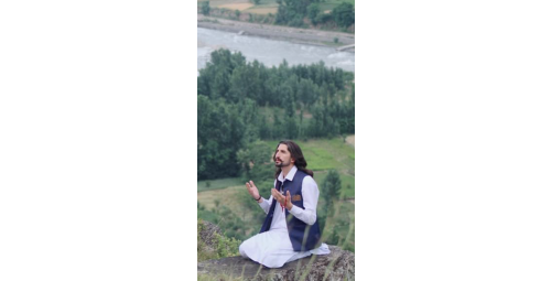 Prince Haroon Kham praying for humanity