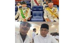 Hrh Prince Brigadier General dato seri dr bahman mehrpour with Former Deputy prime minister MALAYSIA  EXCELLENCY DATO SERI DR ZAHIED HAMIDI
