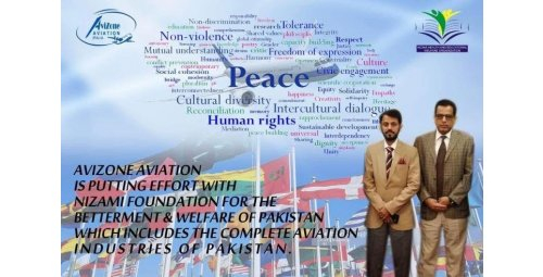 AVIAZONE AVIATION IS PUTTING EFFORD WITH NIZAMI FOUNDATION FOR THE BETTERMENT & WELFARE OF PAKISTAN