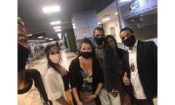 Nosso Agente Gleyson com a família no aeroporto de Salvador