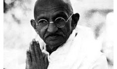 Mahatma Gandhi: An eye for an eye and the world will end up blind