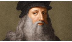 Escape  boredom - Leonardo da Vinci is a guide to a good life
