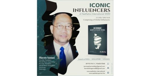 Mr. Djuyoto Suntani - Partner of Pacifist Journal, Founder President of World Peace Committee and World Peace Gong 202 Countries - Indonesia