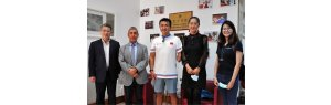 Chinese Paralympic sailor visits Confucius Institute in Lisbon