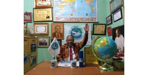 THE WORLD IS OBJECTED TO THE PRESIDENT OF THE WORLD PEACE COMMITTEE, Mr. DJUYOTO SUNTANI. FACT !!!