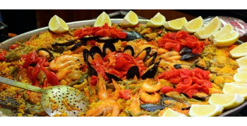 Typical dishes of Spanish cuisine