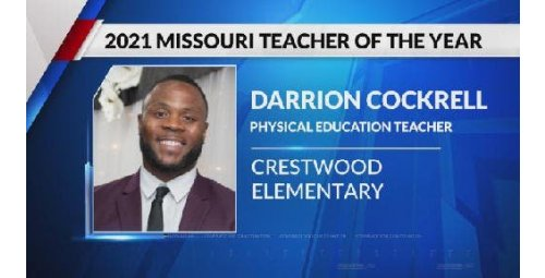 A former gang member was named Professor of the Year in Missouri, USA