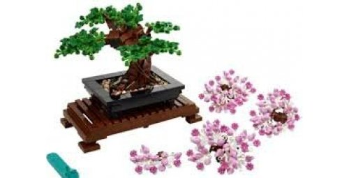 What's new in LEGO, a flowery and sustainable botanical collection