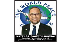 HE Madam Astrid S Suntani and the big family World Peace Committee 202 Country Say : Thank you very much for the prayers and support  the Peace Ambassador  IHM, Representative of the World Committee Ainura Karabaeva  Kazakhstan HE Madam Turdieva Aliy