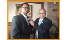 Lalit Kumar ( India)  ! A Great Fighter to World Peace Nominated,  in December 2020 , President of the new Organization of  the late HE DJUYOTO SUNTANI, WPU (World Peace University) Founded before his sad death (18 January 2021)!  Here the meeting be
